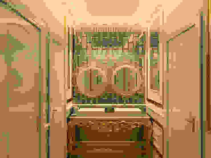 Phối cảnh nội thất rest room: cổ điển  by Công ty TNHH Thiết kế và Ứng dụng QBEST, Kinh điển