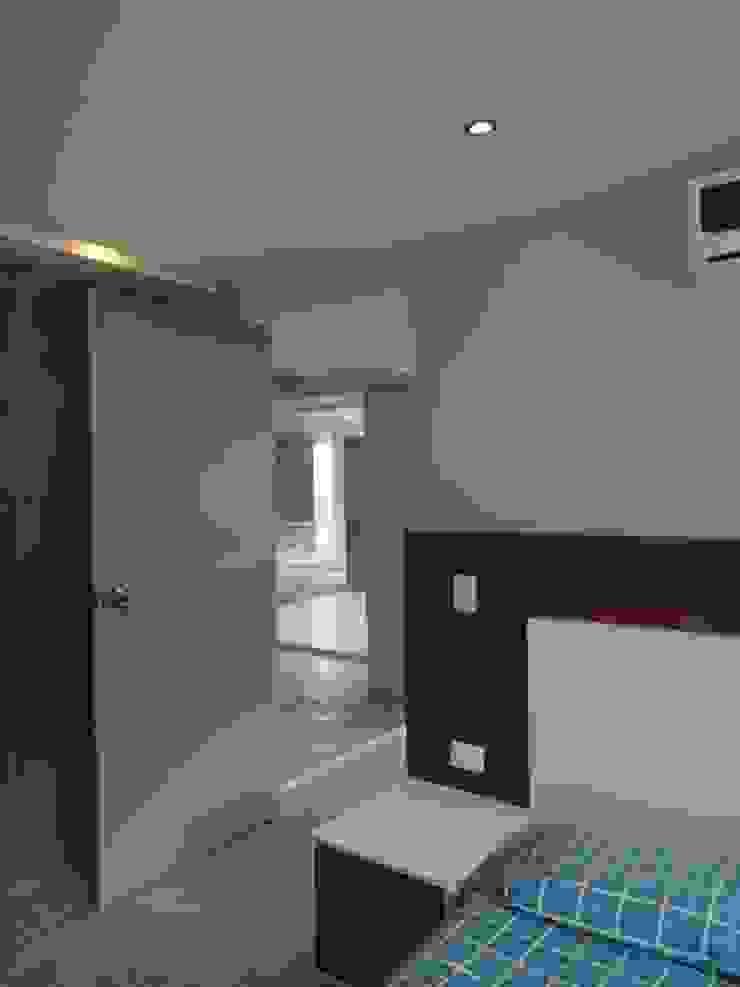 Habitación de huespedes MARATEA estudio Cuartos de estilo minimalista