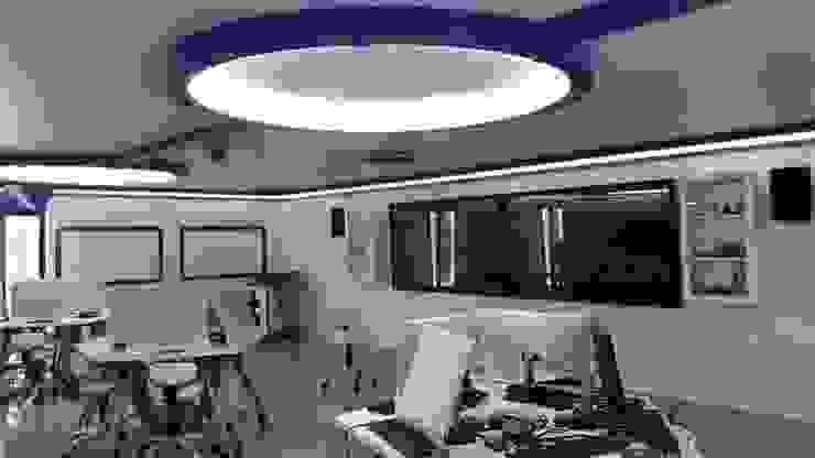 smart classroom: ทันสมัย  โดย บริษัท ไอเดียโอโลจี จำกัด, โมเดิร์น แผ่นไม้อัด