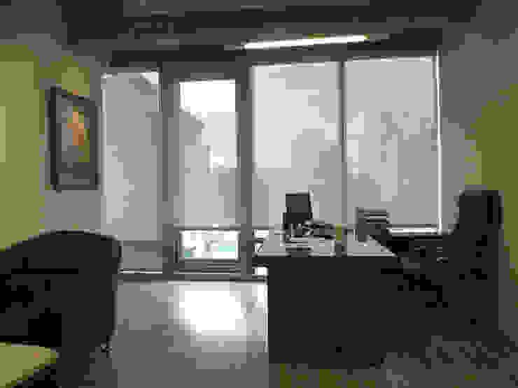 董事長辦公室 根據 Hi+Design/Interior.Architecture. 寰邑空間設計 現代風