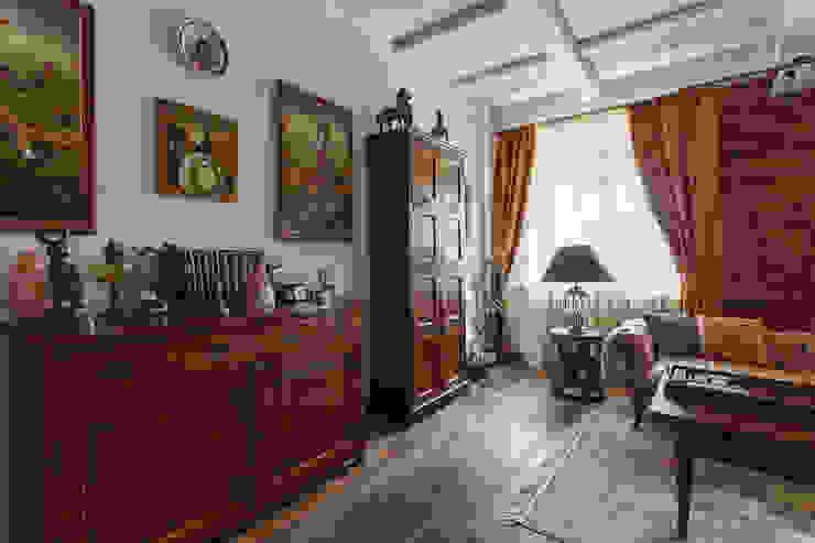 Salon original par Станислав Старых Éclectique Bois Effet bois