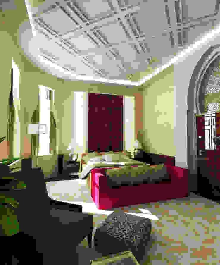 Obelisk Engineering & Contracting WLL. Classic style bedroom