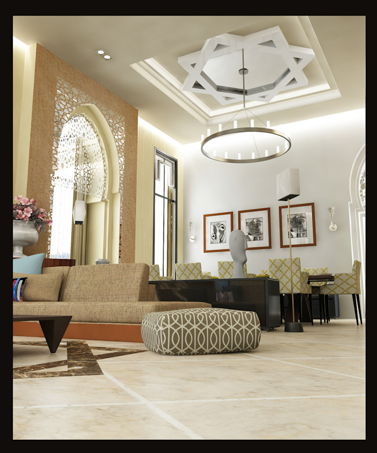 Obelisk Engineering & Contracting WLL. Classic style living room