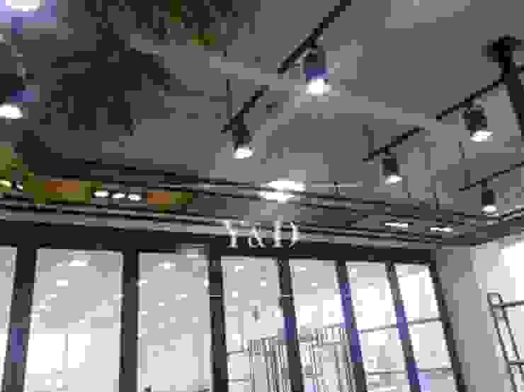 피트니스 조명 구조물 모던스타일 피트니스 룸 by 와이앤디자인 모던