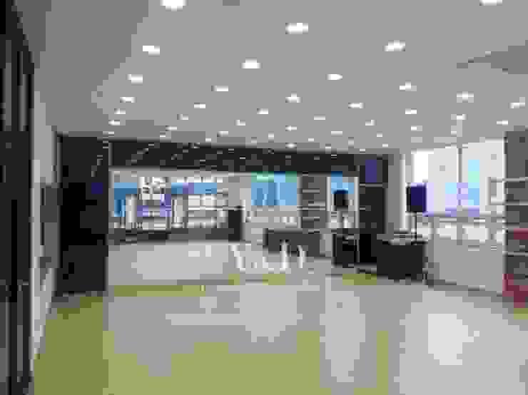 GX룸 내부 모던스타일 피트니스 룸 by 와이앤디자인 모던