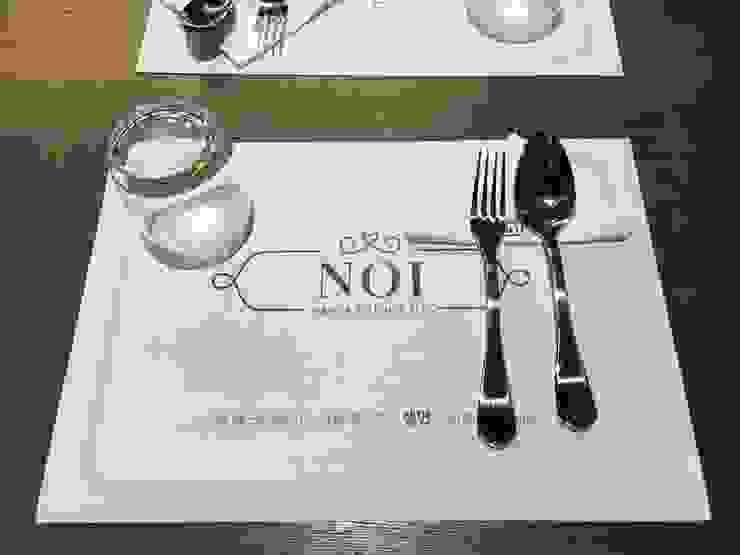 NOI 레스토랑 인테리어 by Design Partner Blue box 모던