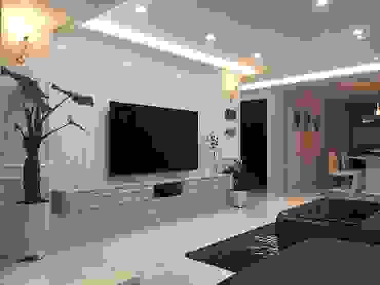 Salas de estilo moderno de Design Partner Blue box Moderno