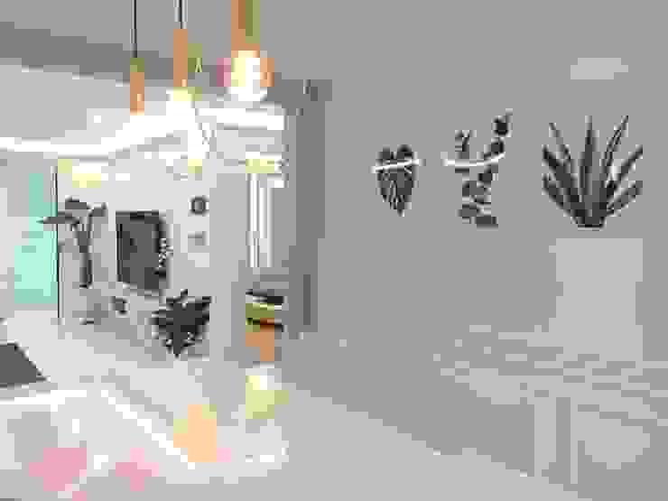 Comedores de estilo moderno de Design Partner Blue box Moderno