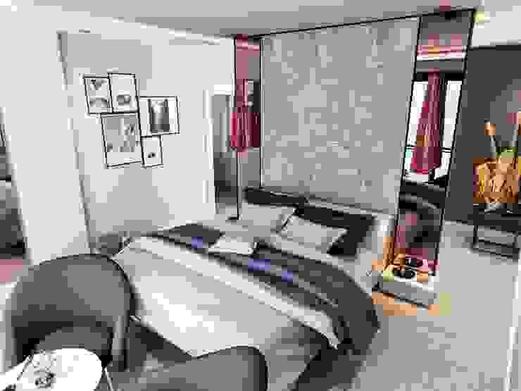 Villa Mira Modern Yatak Odası VERO CONCEPT MİMARLIK Modern