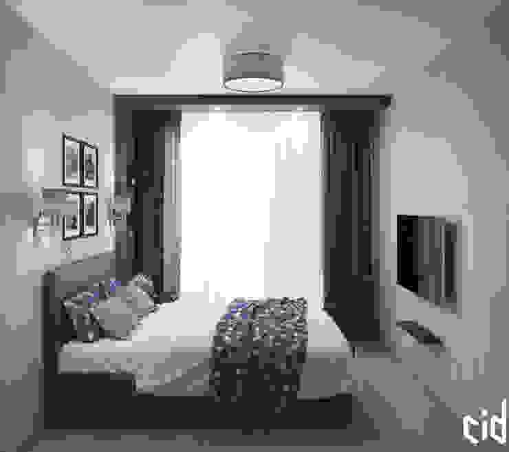 Center of interior design Dormitorios de estilo ecléctico