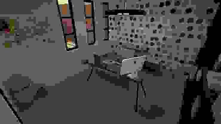 Vivienda Unifamiliar Oficinas de estilo moderno de N.A. ARQUITECTURA Moderno