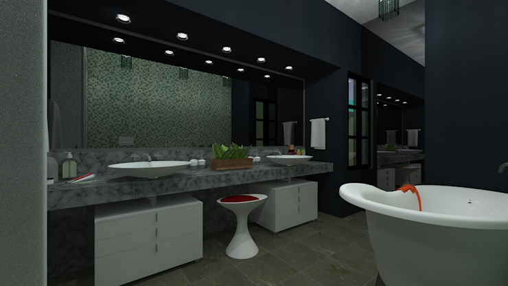 N.A. ARQUITECTURA Bagno moderno