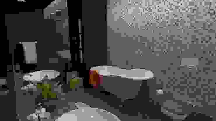 Vivienda Unifamiliar Baños de estilo moderno de N.A. ARQUITECTURA Moderno