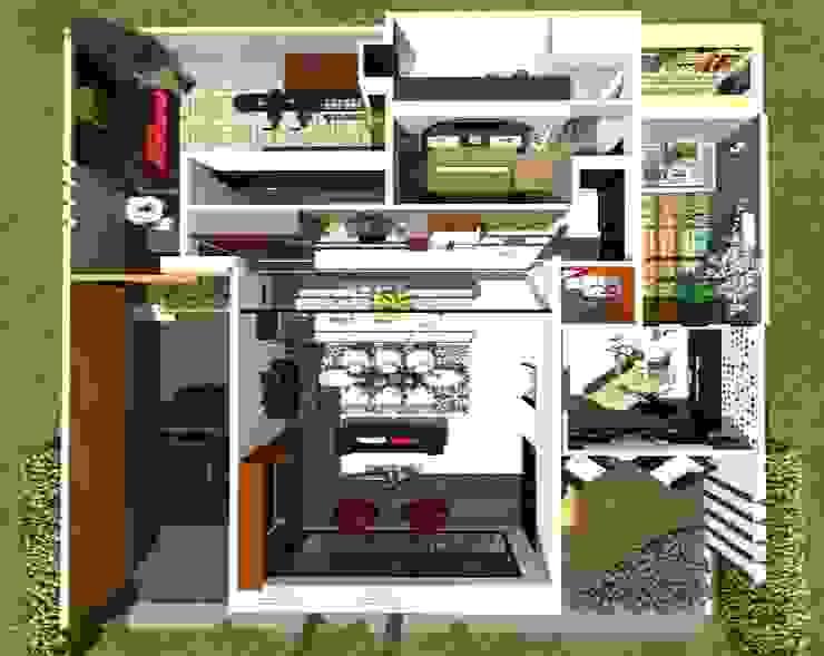 Vivienda Unifamiliar Casas modernas de N.A. ARQUITECTURA Moderno