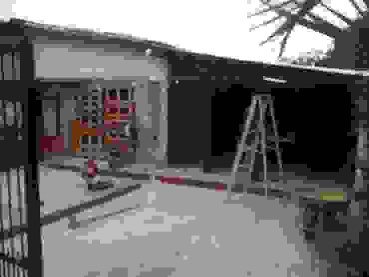 Remodelacion en Fachada Principal de Arq. Alberto Quero Moderno Concreto