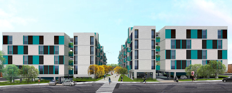 von BONINI OHOSEKI   arquitetura e paisagismo