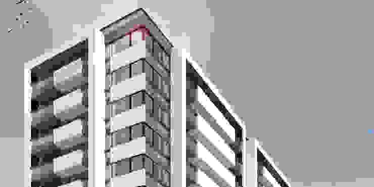 EDIFICIO AGUILA III Proa Arquitectura Dormitorios modernos: Ideas, imágenes y decoración