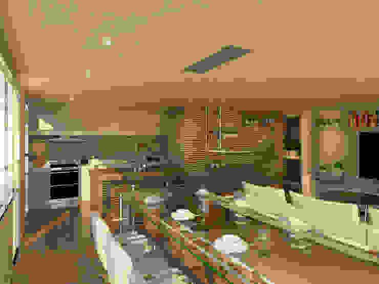 EDIFICIO AGUILA III Proa Arquitectura Comedores modernos