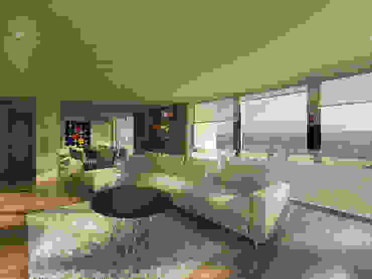 EDIFICIO AGUILA III Proa Arquitectura Salas multimedia modernas
