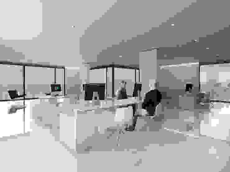 EDIFICIO AGUILA III Proa Arquitectura Estudios y oficinas modernos