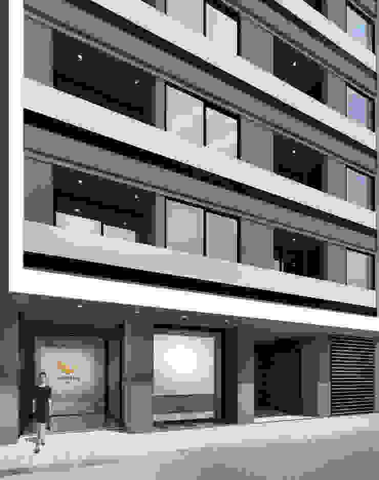 EDIFICIO AGUILA IV Dormitorios modernos: Ideas, imágenes y decoración de Proa Arquitectura Moderno