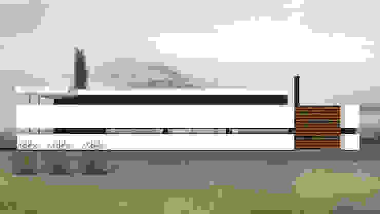 Chambre moderne par Proa Arquitectura Moderne