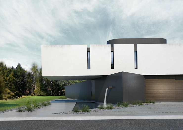 CASA PATRICIOS Proa Arquitectura Dormitorios minimalistas Concreto reforzado Blanco