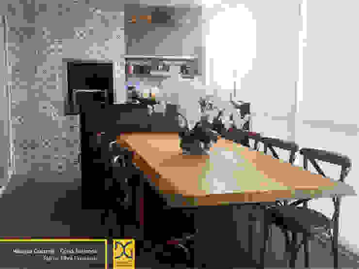 Varanda Gourmet Estúdio DG Arquitetura Varandas, alpendres e terraços rústicos