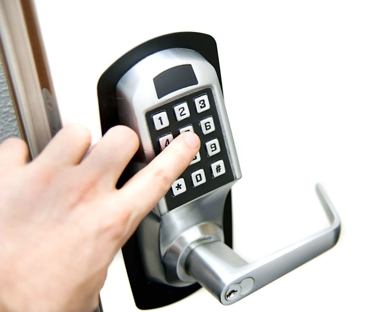 Keyless Door Lock Installation by Locksmiths Christchurch