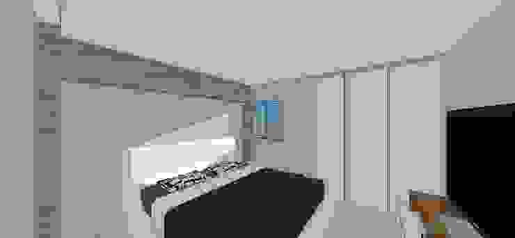 Apto. N°4. Habitación Cuartos de estilo minimalista de MARATEA estudio Minimalista