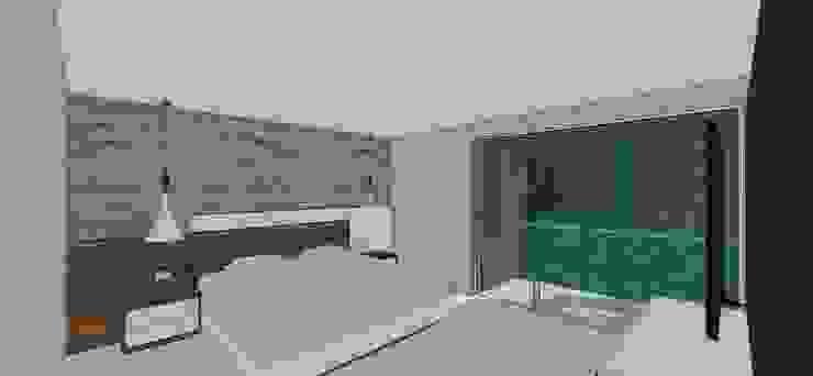Apto. N°5. Habitación principal Cuartos de estilo minimalista de MARATEA estudio Minimalista