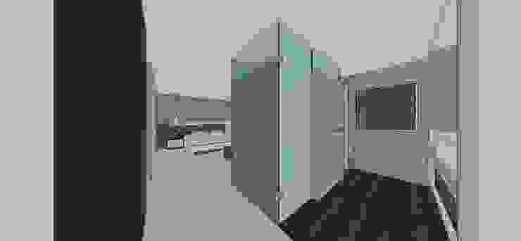 Apto. N°5. baño habitación principal Baños de estilo minimalista de MARATEA estudio Minimalista