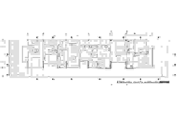 Segunda planta de MARATEA estudio Minimalista