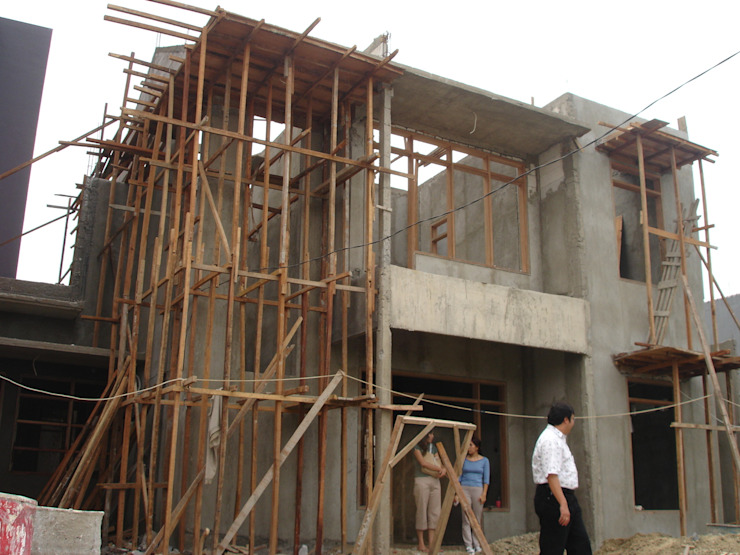 Progress Pembangunan Oleh Evolver Architects