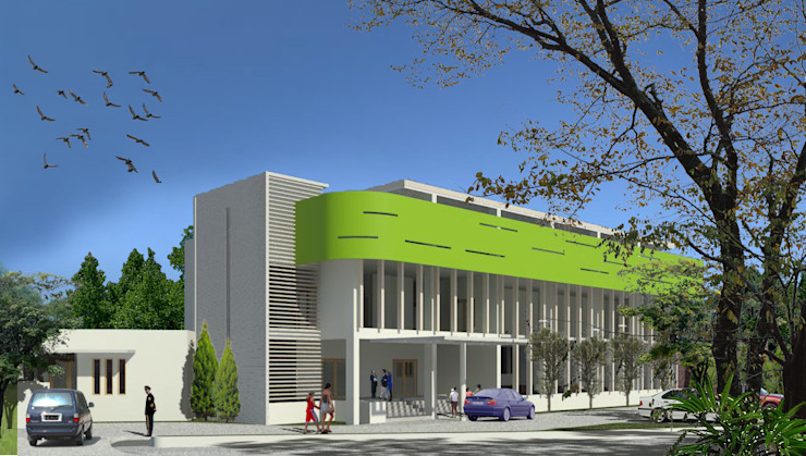 Multi Function Hall Oleh Evolver Architects