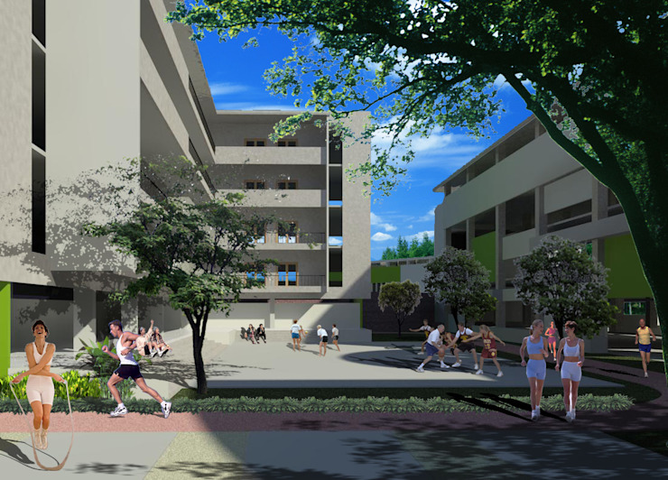 Junior High School Oleh Evolver Architects