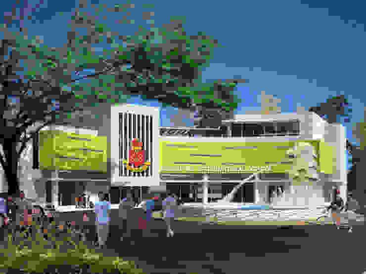 Main Entrance Oleh Evolver Architects