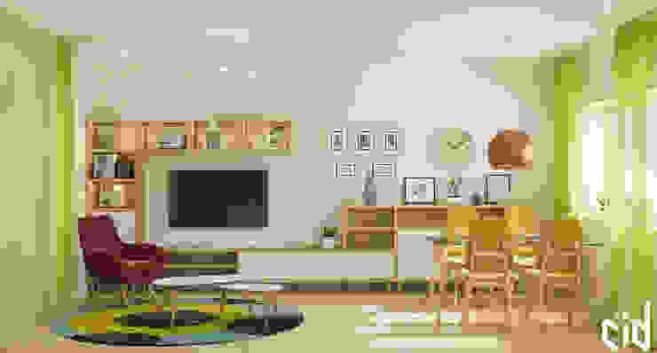 Center of interior design Modern Living Room