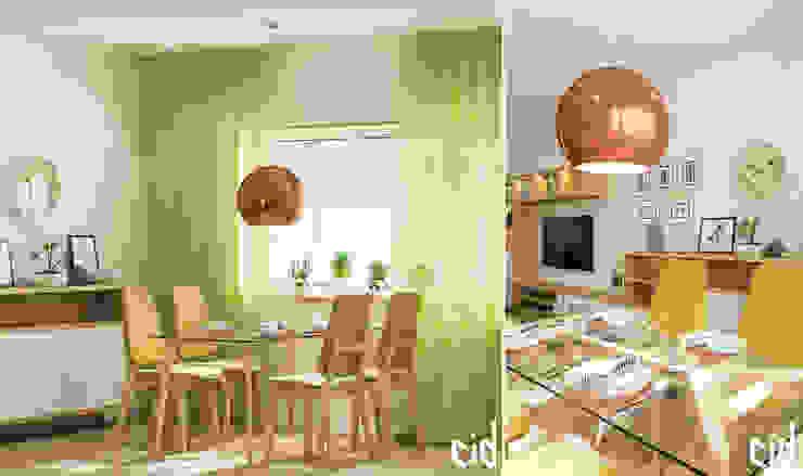 غرفة السفرة تنفيذ Center of interior design,