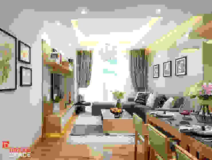 Thiết kế thi công căn hộ chung cư Time City. Hà Nội: hiện đại  by Công ty TNHH Thiết kế và Thi công Dream Space, Hiện đại
