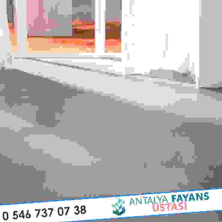 Paredes y suelos de estilo moderno de Antalya Fayans Ustası - 0 546 737 07 38 Moderno Cerámico