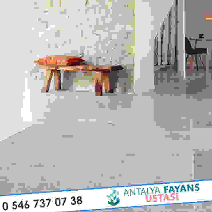 Paredes e pisos mediterrâneos por Antalya Fayans Ustası - 0 546 737 07 38 Mediterrâneo Cerâmica