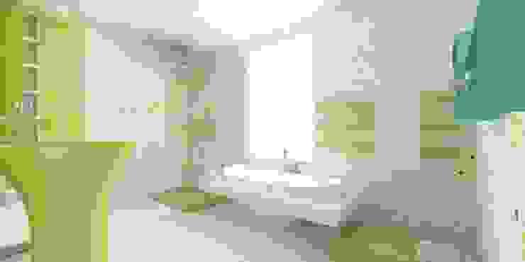 Коттедж «ЭКО» Ванная комната в эклектичном стиле от ART Studio Design & Construction Эклектичный