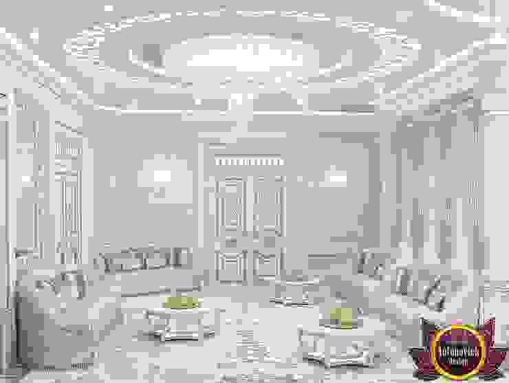 Salas / recibidores de estilo  por Luxury Antonovich Design,