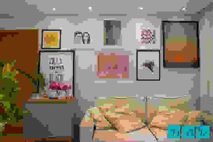 Modern Living Room by Studio MAR Arquitetura e Urbanismo Modern Wood Wood effect