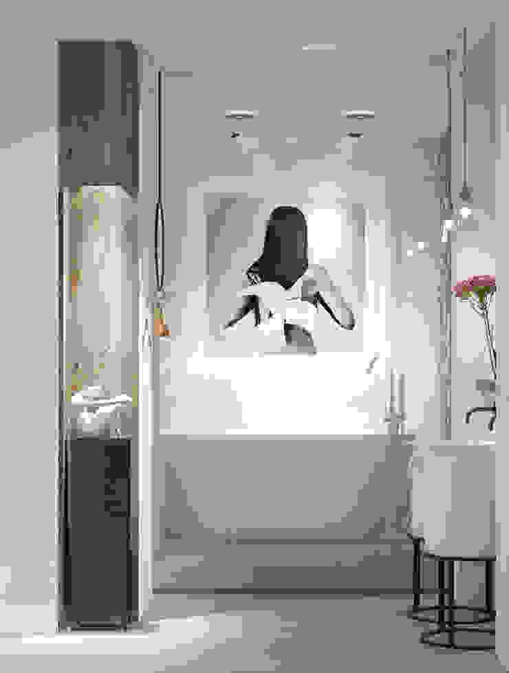 Baños de estilo ecléctico de ART Studio Design & Construction Ecléctico