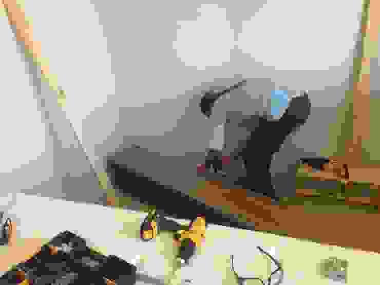 Preparando la instalación de N.Muebles Diseños Limitada Moderno Aglomerado