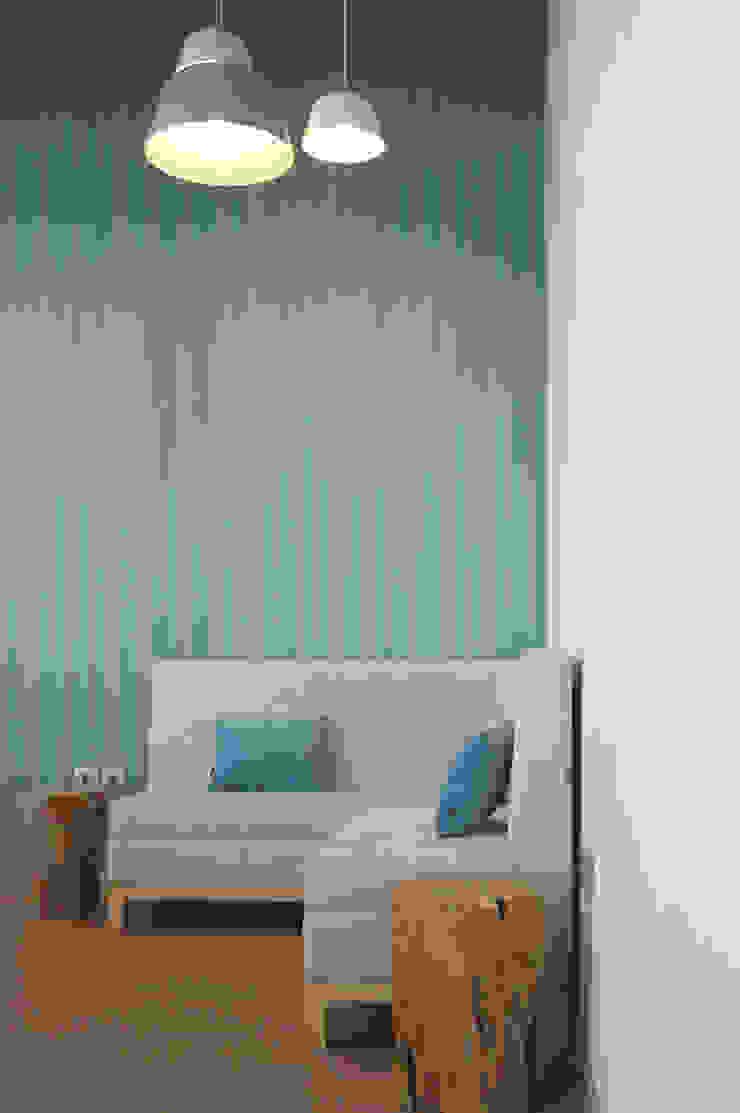 Moderne Einkaufscenter von MOYO Concept Modern Holzwerkstoff Transparent