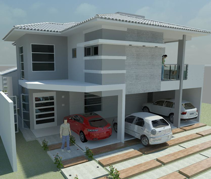 Projeto residencial - Condomínio Florais dos Lagos Appoint Arquitetura e Engenharia