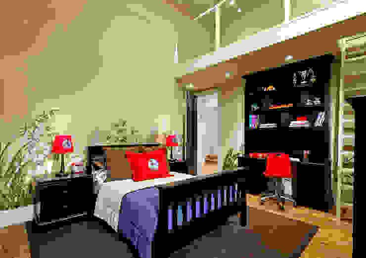 Camera da letto moderna di Douglas Design Studio Moderno